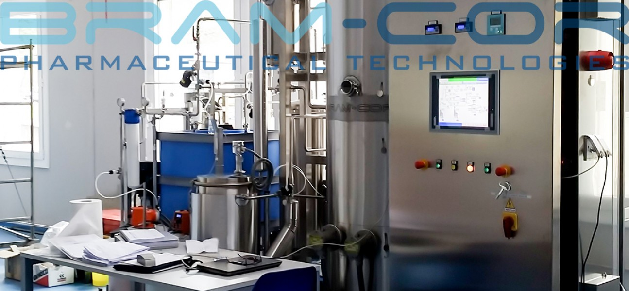 Bram-Cor Pharmaceutical Equipment and Technologies - SAT  on water treatment system