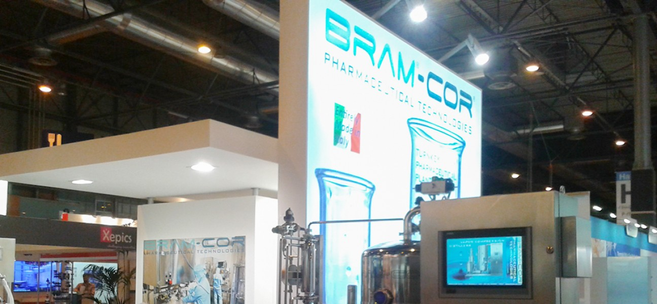 Bram-Cor Pharmaceutical Equipment - Stand image