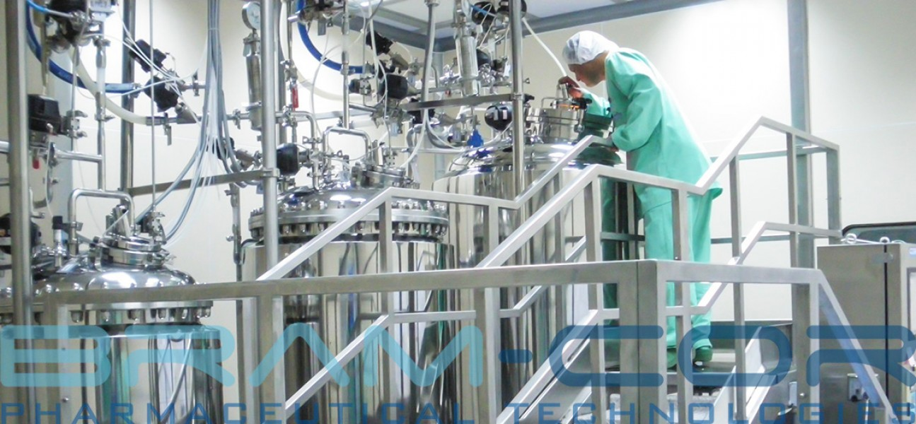 Bram-Cor Pharmaceutical Equipment - Preparation tank - Processing Systems