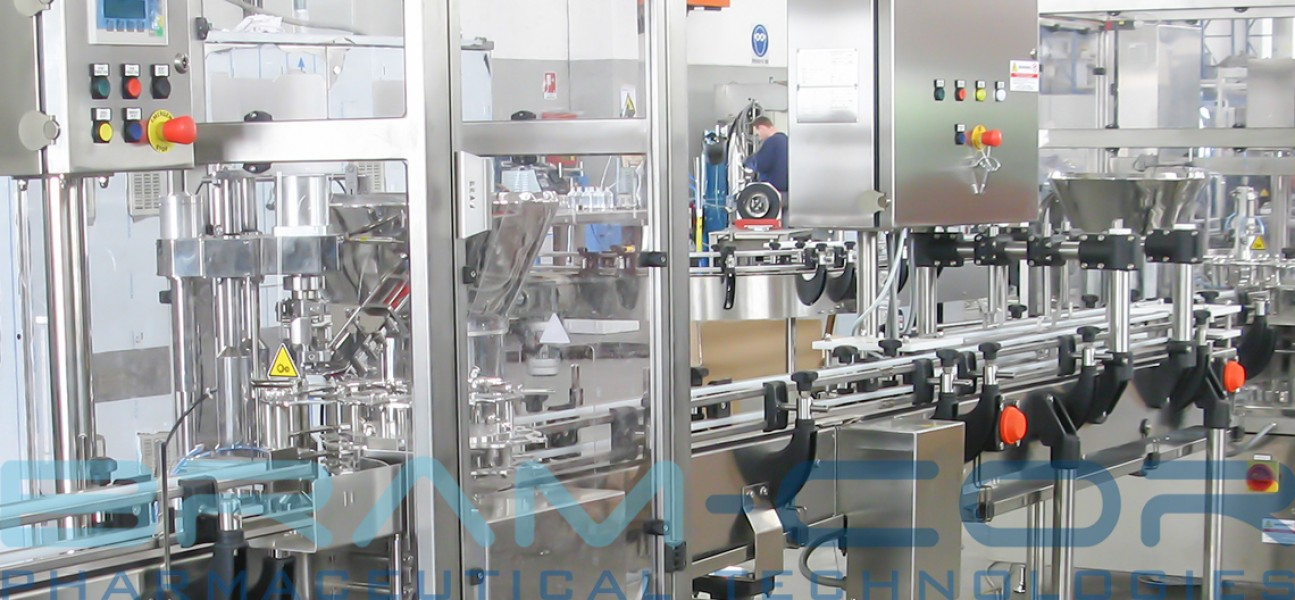 Bram-Cor Pharmaceutical Equipment - Filling systems with conveyors