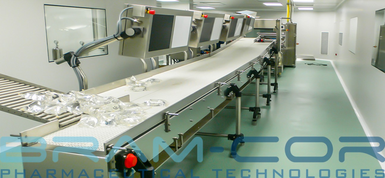 Bram-Cor Pharmaceutical Equipment and Technologies - VIS bags inspection system