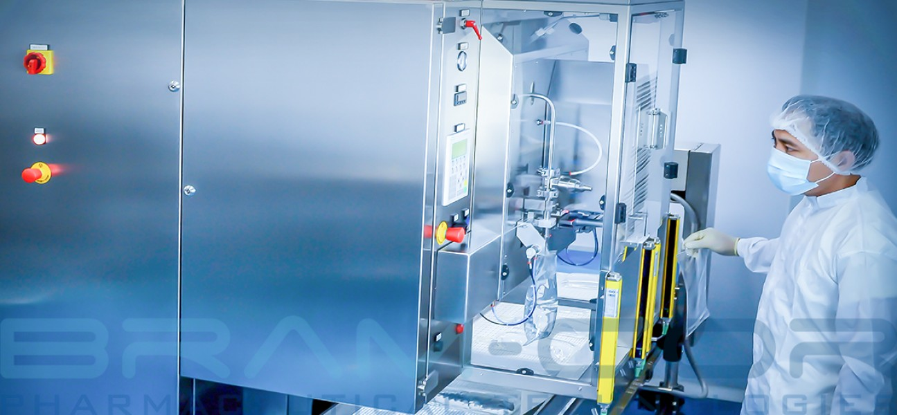 BRAM-COR turnkey project for parenteral solutions