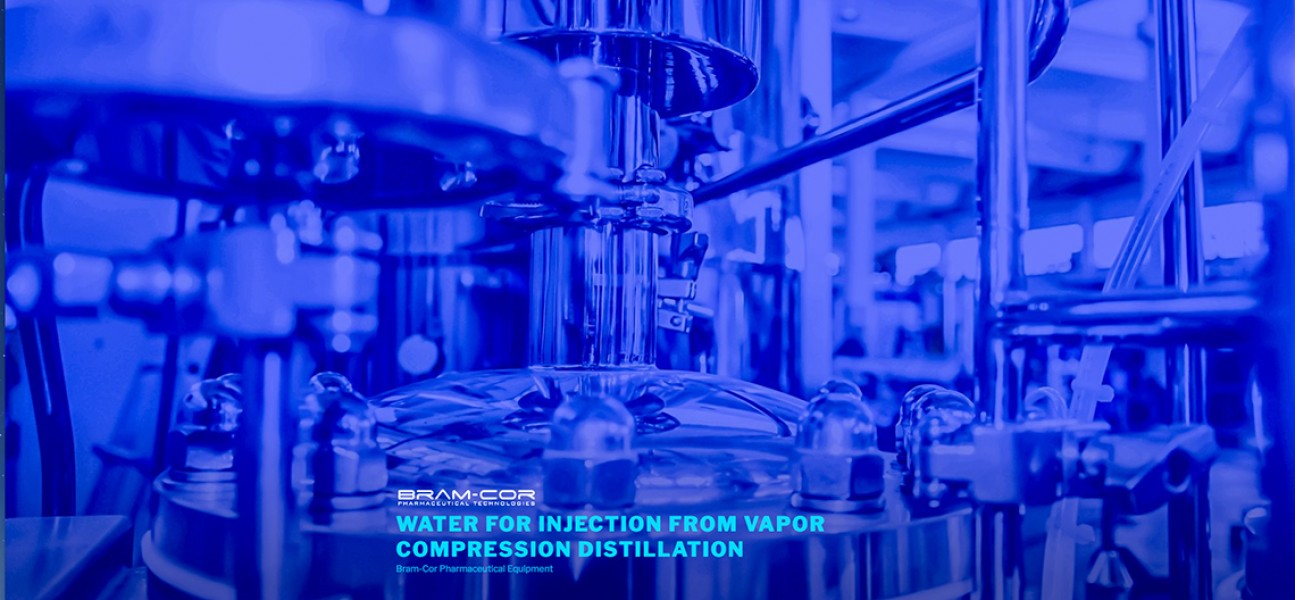 Bram-Cor Pharmaceutical Equipment - Water Treatment Systems - STMC Vapor Compression Still
